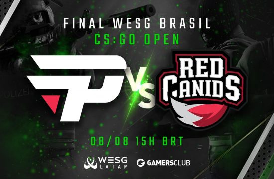 CSGO Red Canids e paiN Gaming disputam a final da etapa brasileira do WESG Latam, com transmissão ao vivo