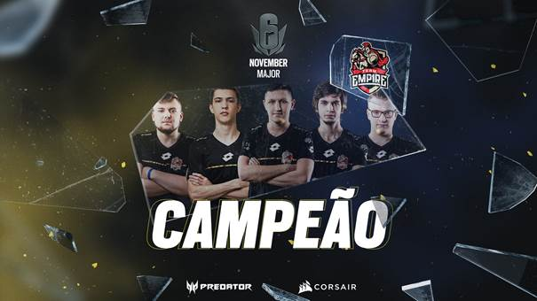 Team Empire supera BDS Esport e fica com título do Six Major Europeu de novembro